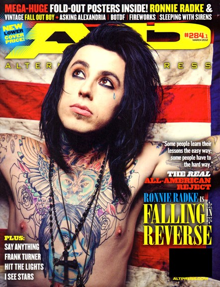 Alternative Press Cover - 3/1/2012