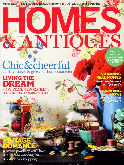 Homes & Antiques Cover - 2/1/2012