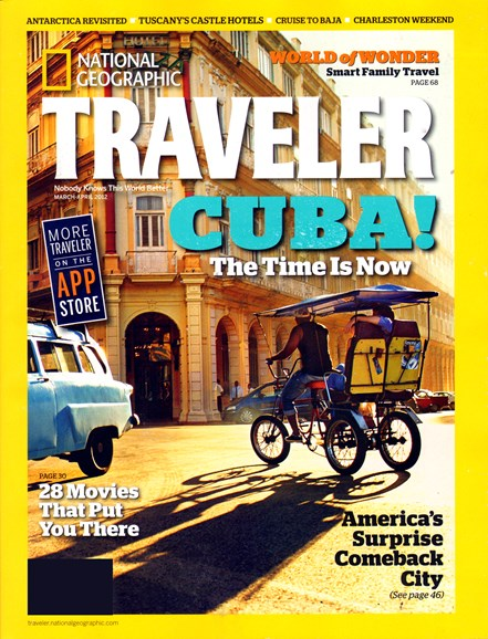 National Geographic Traveler Cover - 3/1/2012
