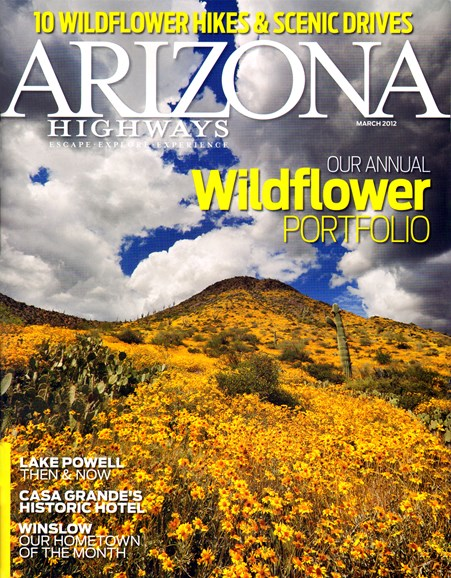 Arizona Highways Cover - 3/1/2012
