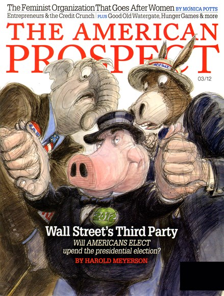 The American Prospect Cover - 3/1/2012