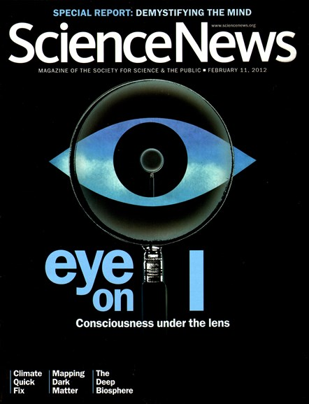 Science News Cover - 2/11/2012