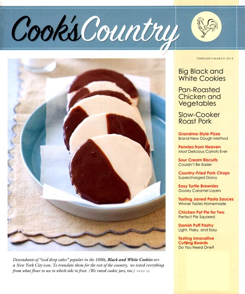 Cook's Country Cover - 2/1/2012