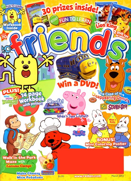 Preschool Friends Cover - 3/1/2012