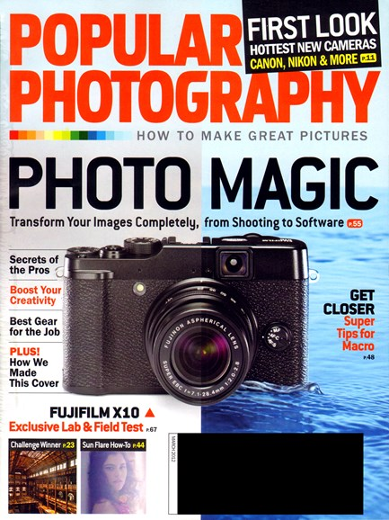 Popular Photography Cover - 3/1/2012