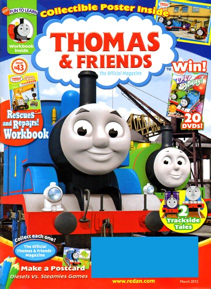 Thomas & Friends Cover - 3/1/2012