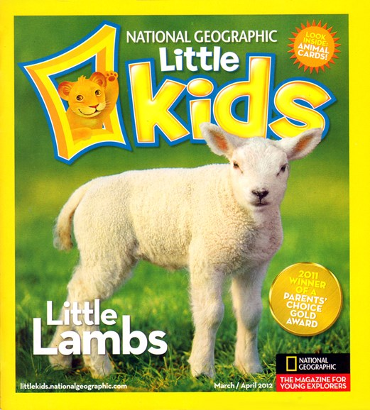 National Geographic Little Kids Cover - 3/1/2012