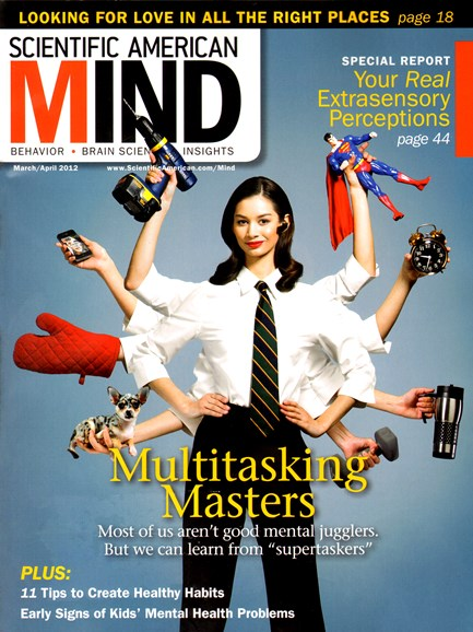 Scientific American Mind Cover - 3/1/2012