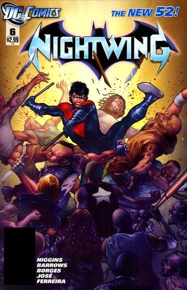 Nightwing Cover - 4/1/2012