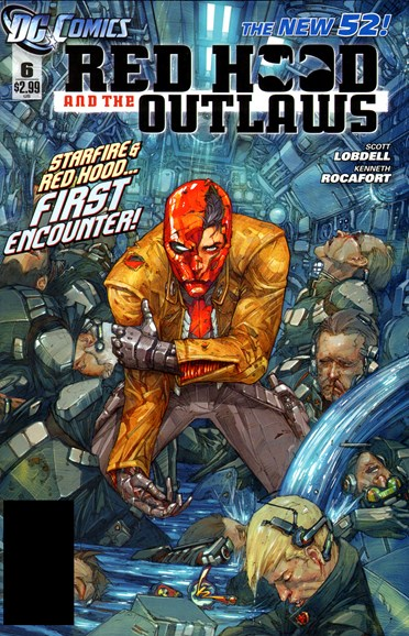 Red Hood and the Outlaws Cover - 4/1/2012