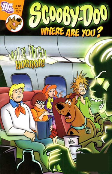 Scooby Doo, Where Are You? Cover - 4/1/2012