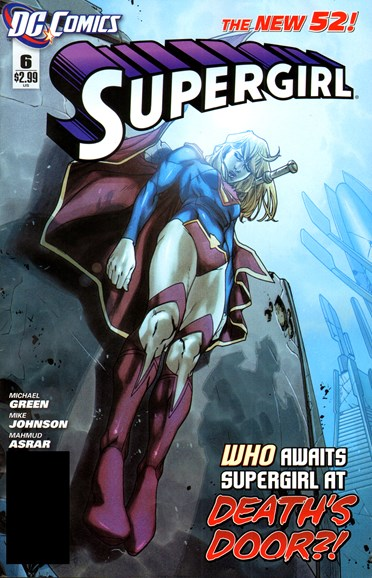 Supergirl Cover - 4/1/2012