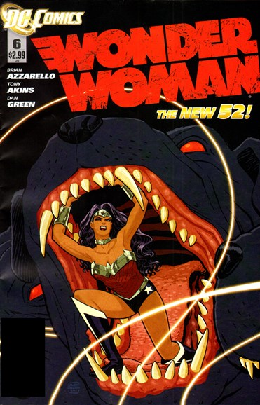 Wonder Woman Cover - 4/1/2012