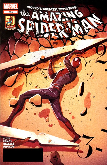 Amazing Spider-Man Cover - 3/1/2012
