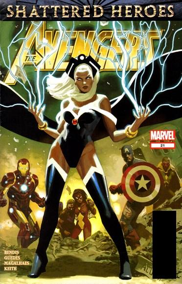 Avengers Cover - 3/1/2012