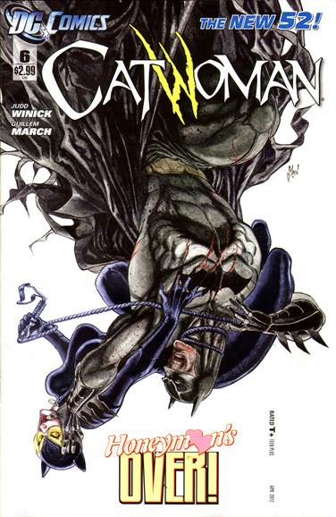 Catwoman Cover - 4/1/2012