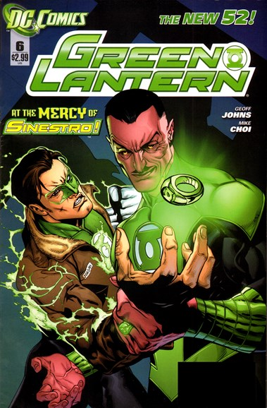 Green Lanterns Cover - 4/1/2012