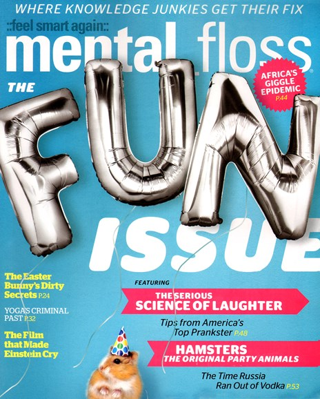 Mental Floss Cover - 3/1/2012