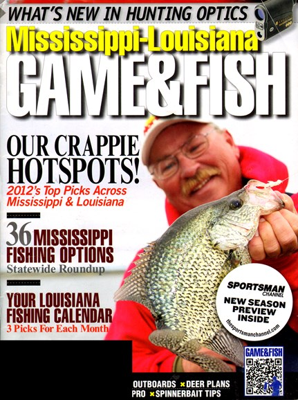 Mississippi Game & Fish Cover - 2/1/2012