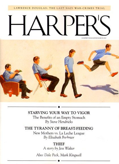 Harper's Cover - 3/1/2012