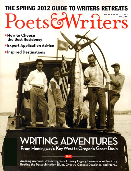 Poets & Writers Cover - 3/1/2012