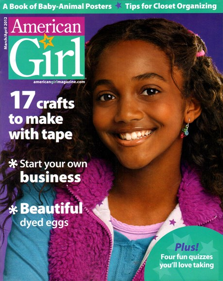 American Girl Cover - 3/1/2012