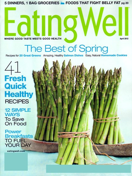 EatingWell Cover - 4/1/2012