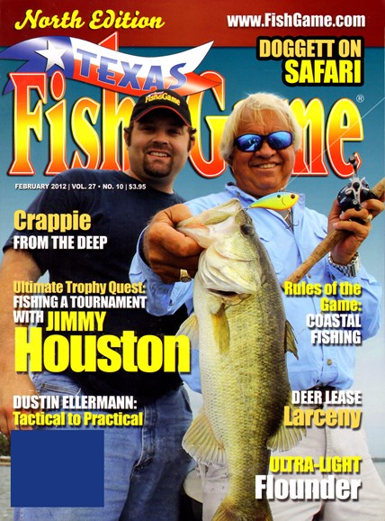 Texas Fish & Game Cover - 2/1/2012