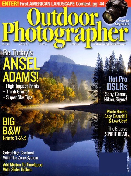 Outdoor Photographer Cover - 3/1/2012