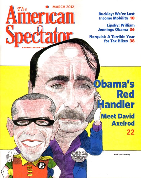 The American Spectator Cover - 3/1/2012