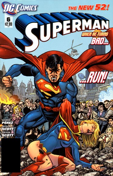 Superman Cover - 4/1/2012