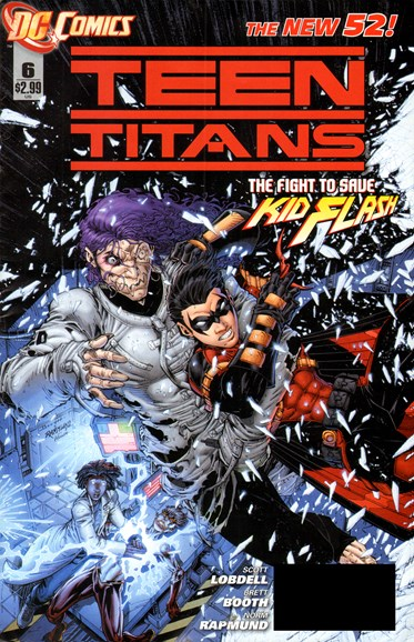 Teen Titans Cover - 4/1/2012