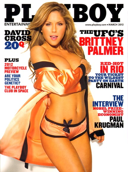 Playboy Cover - 3/1/2012