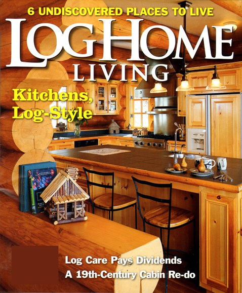 Log Home Living Cover - 5/1/2012