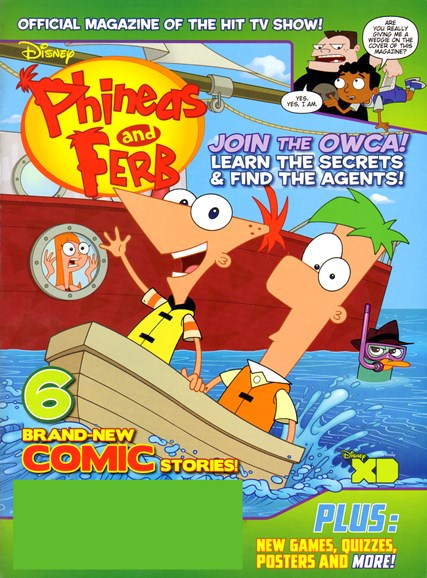 Disney Phineas & Ferb Cover - 4/1/2012