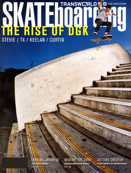 Transworld SKATEboarding Cover - 4/1/2012