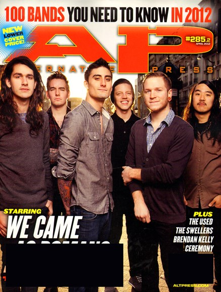 Alternative Press Cover - 4/1/2012