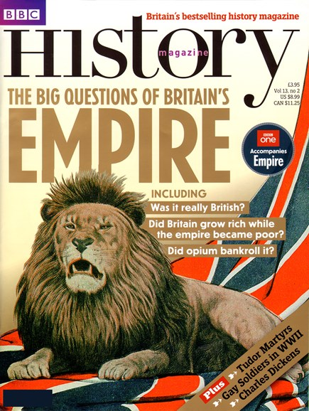 BBC History Cover - 2/1/2012