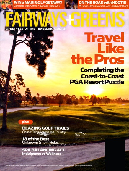 Golf Getaways Cover - 4/1/2012
