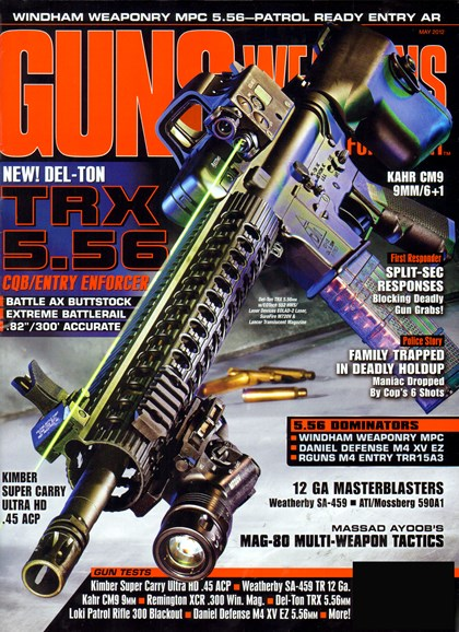 Guns & Weapons For Law Enforcement Cover - 5/1/2012