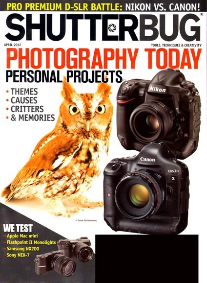 Shutterbug Cover - 4/1/2012