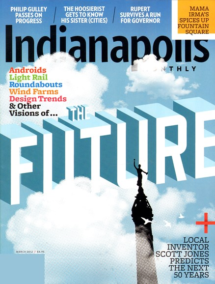 Indianapolis Monthly Cover - 3/1/2012