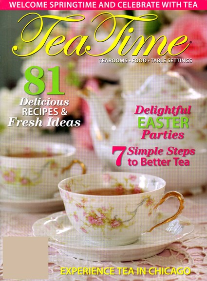 Tea Time Cover - 3/1/2012
