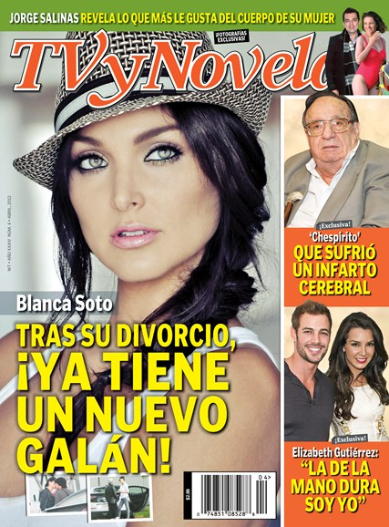 Tv Y Novelas Cover - 4/1/2012