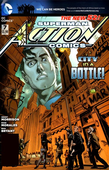 Action Comics Cover - 5/1/2012