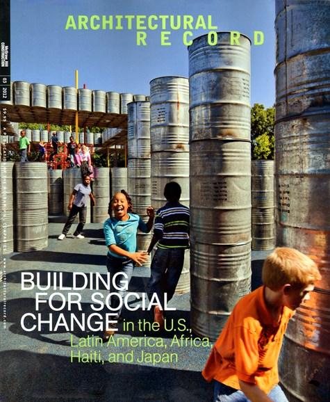 Architectural Record Cover - 3/1/2012