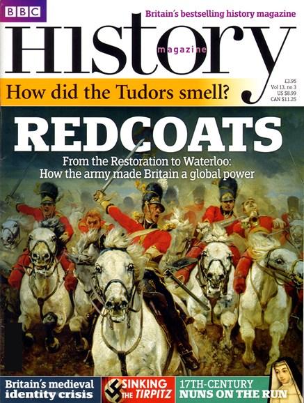BBC History Cover - 3/1/2012