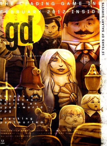 Game Developer Cover - 2/1/2012
