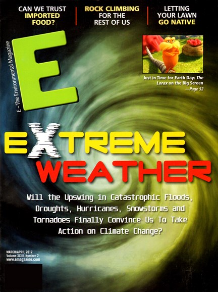 E: The Environment Magazine Cover - 3/1/2012