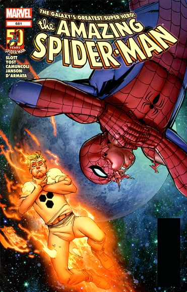Amazing Spider-Man Cover - 4/30/2012